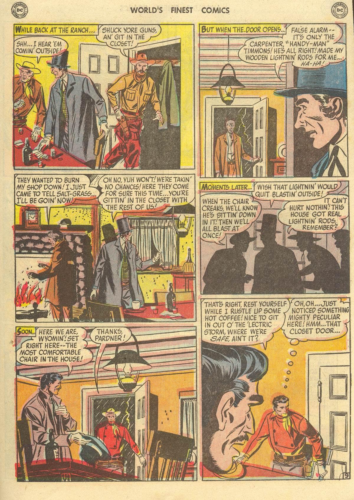 Read online World's Finest Comics comic -  Issue #51 - 51