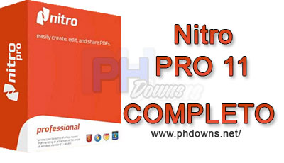 PH Downs: Nitro PRO 11 + Crack/Serial - Download Completo