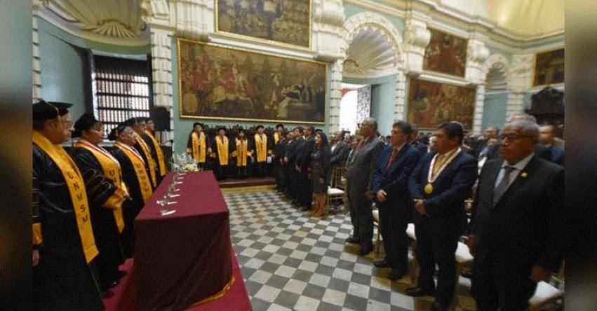 UNMSM: Universidad San Marcos se propone estar entre las mil mejores universidades del mundo - www.unmsm.edu.pe