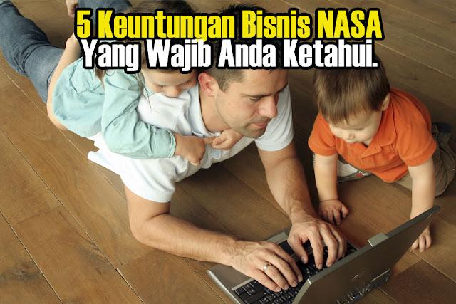 5 Keuntungan Bisnis NASA