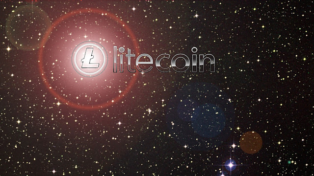 Dangerously Boot Custom Litecoin Wallpaper - LTC In the Stars Background HD