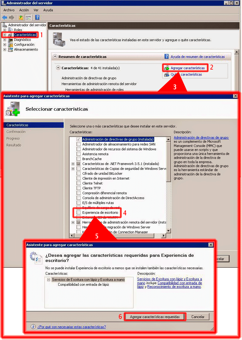 Pantallazos.es: Windows 2008 R2: Liberador de espacio en disco ...
