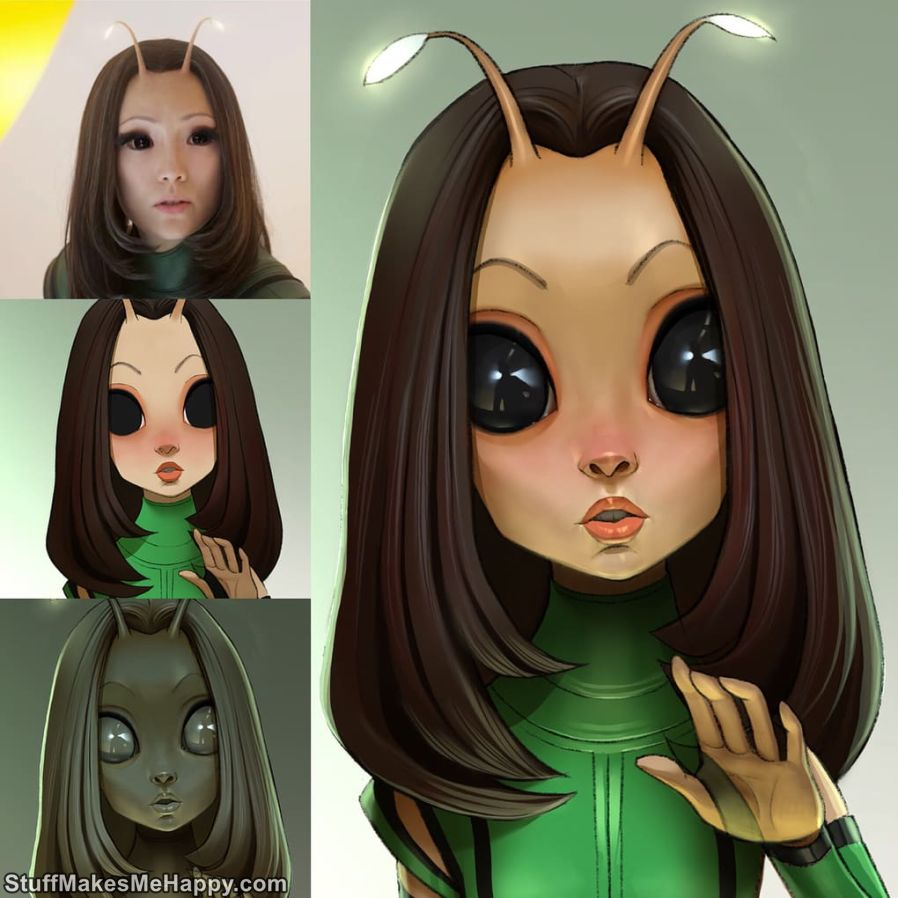 3. Mantis, The Guardians of the Galaxy