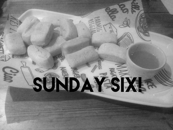 Sunday Six #4   Lifestyle