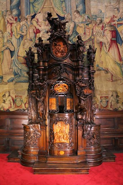 Confesionario Basílica Santa Maria Maggiore (Bergamo)