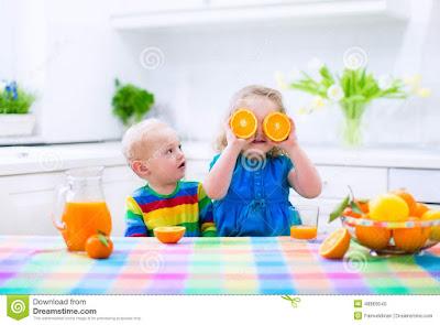 فوائد عصير البرتقال للأطفال الرضع والكبار