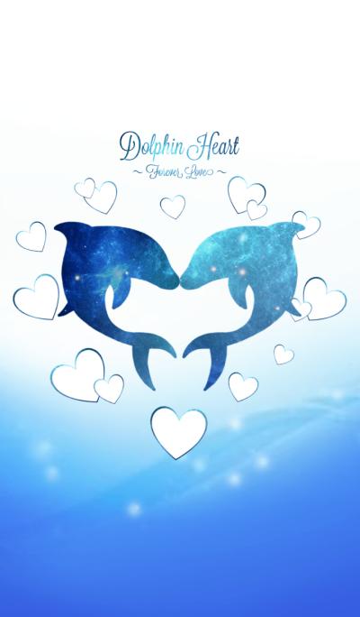 Dolphin Heart Forever Love