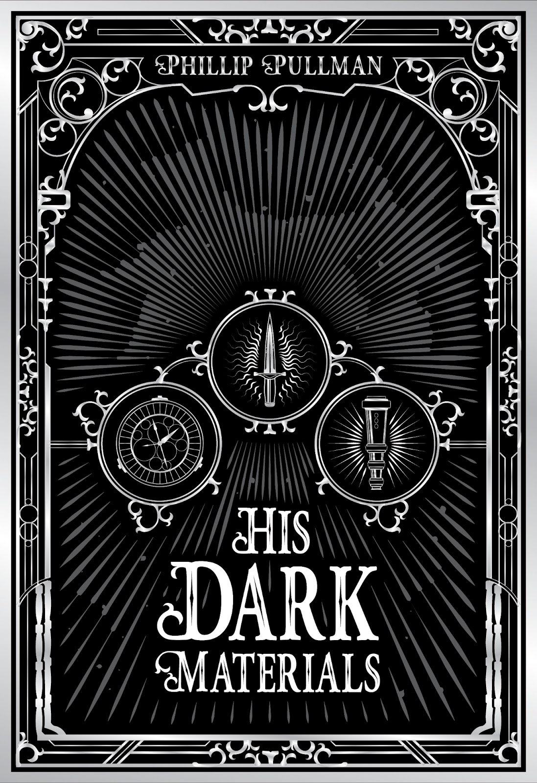 His Dark Materials Book Covers J Hilgers Design