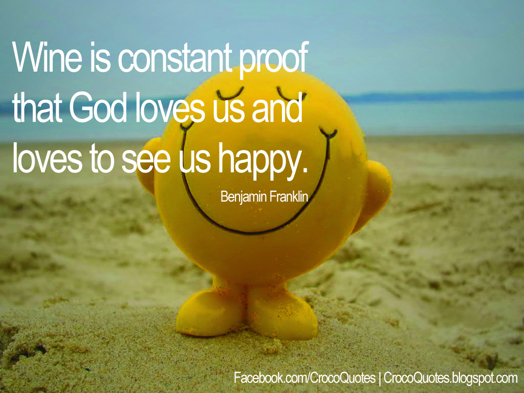 God Loves to see us Happy