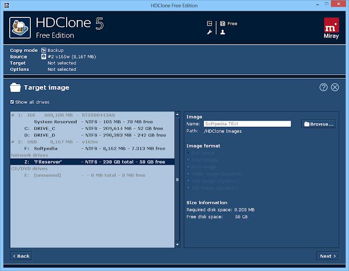 HDClone 7.0.1 - Δημιουργήστε εύκολα και γρήγορα αντίγραφα του σκληρού σας δίσκου