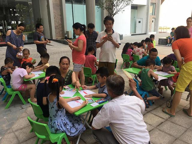 Các hoạt động vui chơi giải trí cho trẻ em được tổ chức cuối tuần