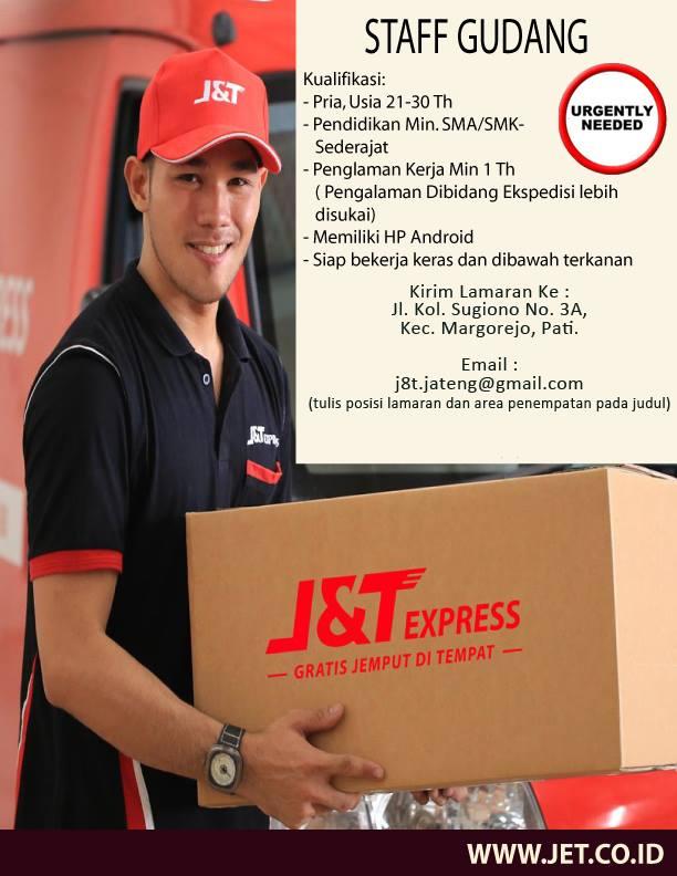 Loker Pati Staff Gudang J T Express Loja Muria