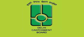 Cantonment Board Delhi Recruitment 2016,54 posts,Clerk, Teacher, Sanitary Inspector