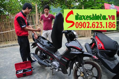 Sửa xe máy lưu động, cứu hộ xe máy tận nơi