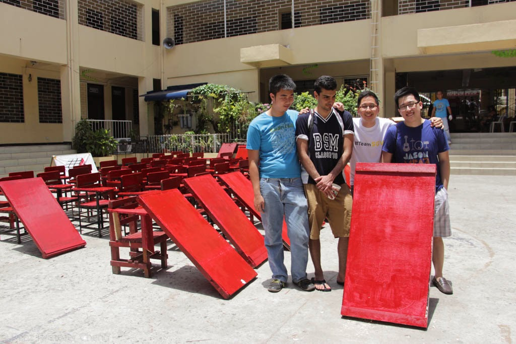 SGV goes to Nueve de Febrero Elementary School for Renovate to Educate