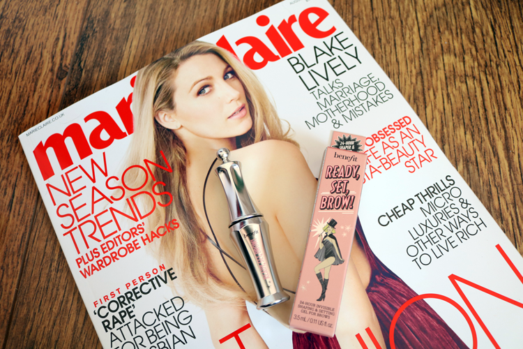 Marie Claire magazine - (Blake Lively cover - August 2016 edition)
