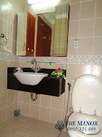 The Manor 2 HCM bán căn hộ block G 36m2 | lavabo và bồ vệ sinh