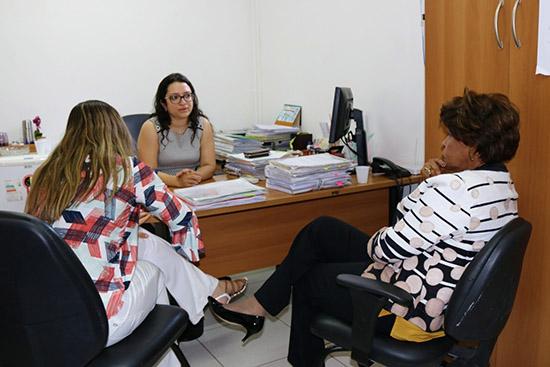 TJMA: Corregedora Anildes Cruz visita Comarca de Urbano Santos