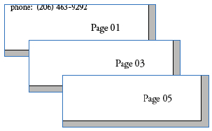 Pemberian page number di ms excel