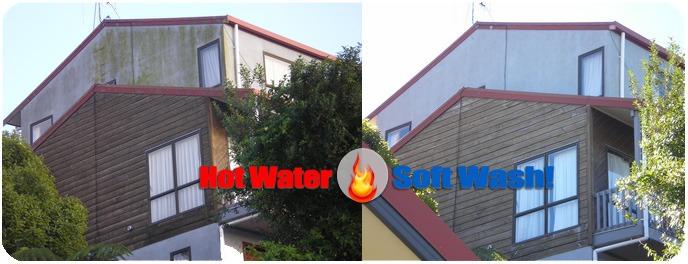 Blue Sky Power Washing for removing mold & algae