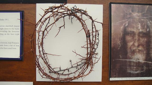 Crown of thorns like Jesus wore on his head
