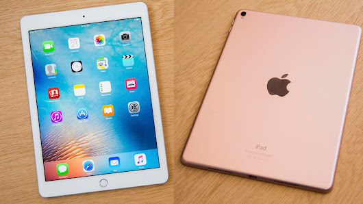 "Apple removes the iPad Air 2 with an upgraded and inexpensive 9.7 inch ""iPad"""
