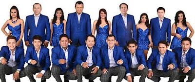 Foto de todos los integrantes de Corazón Serrano