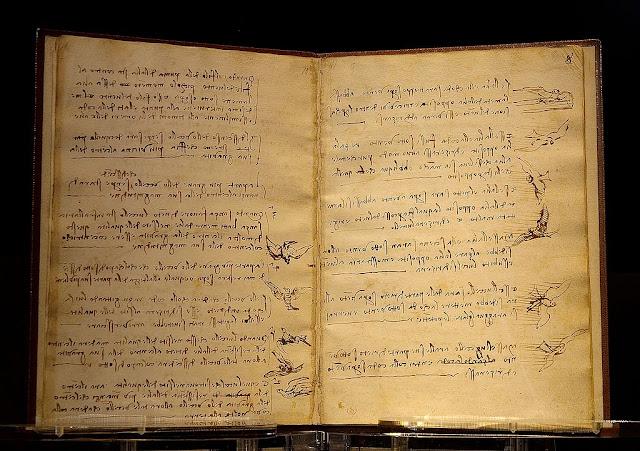 Da Vinci, disléxico y ambidestro