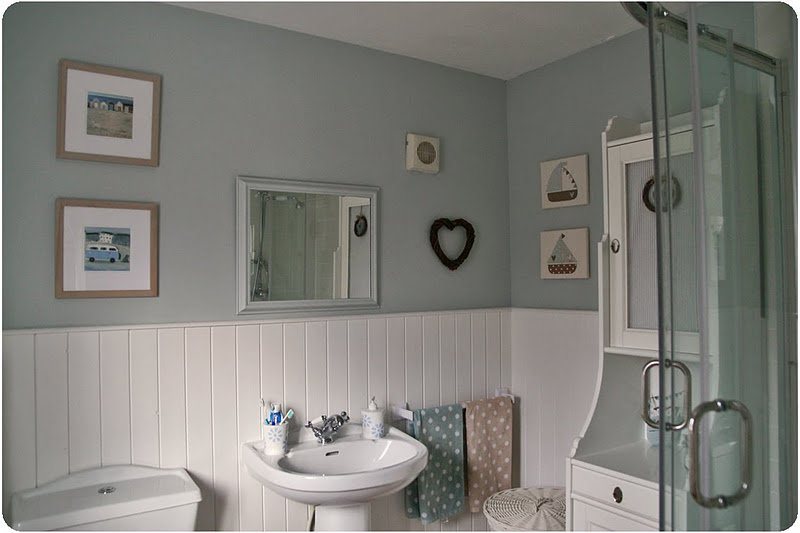 Casa da praia id ia rom ntica para decorar banheiro na for Arredamento accessori