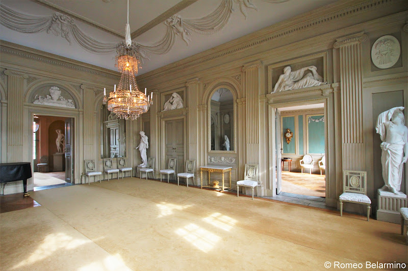 Gunnebo House and Gardens Interior Things to Do in Gothenburg Sweden