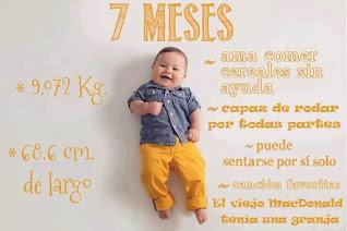 desarrollo del bebe - 7 meses
