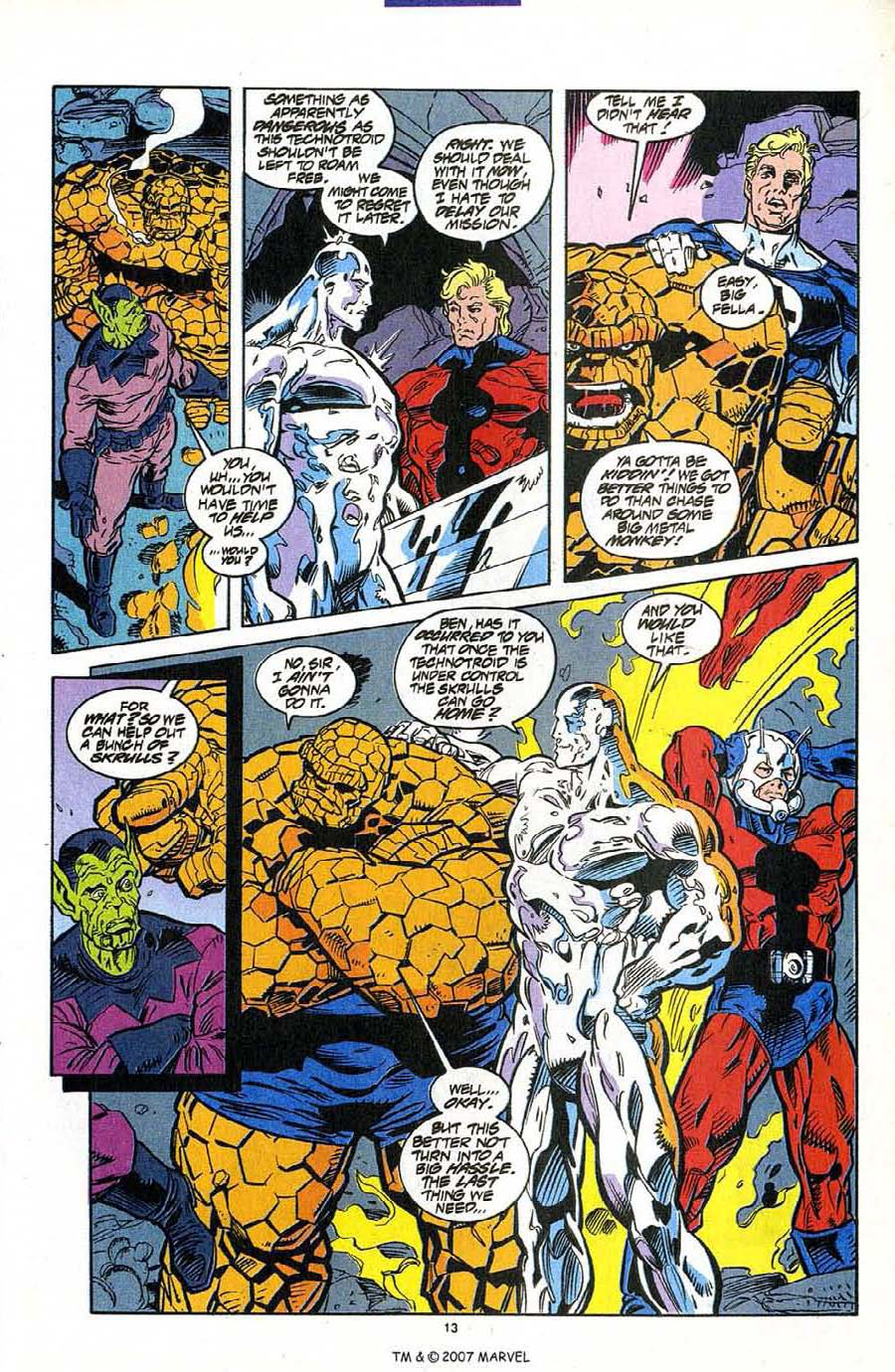 Read online Silver Surfer (1987) comic -  Issue #95 - 15