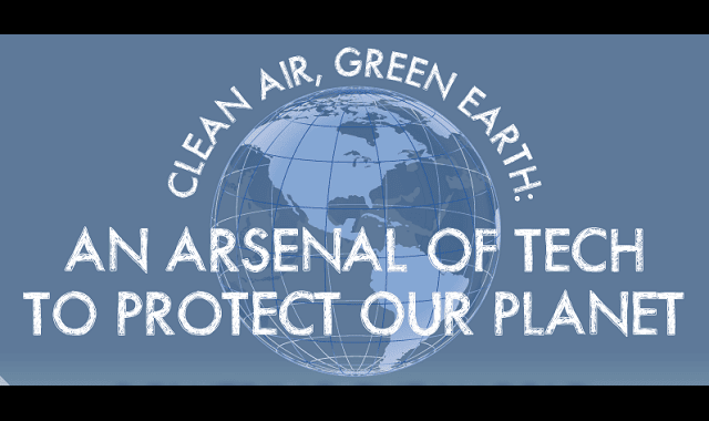 Arsenal of Tech to Protect Our Planet