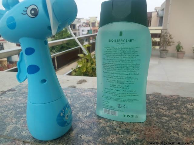 Biotique Botanicals Kids Berry Shake Body Wash (Disney Pixar) Review