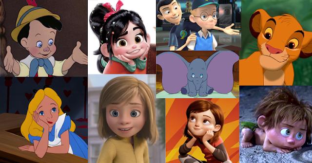 Tem Na Web - As crianças da Disney