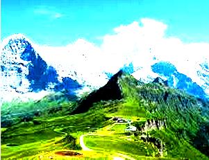 Bentuk-Bentuk Pegunungan Lipatan