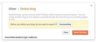 Delete-blogspot-permanent-popup