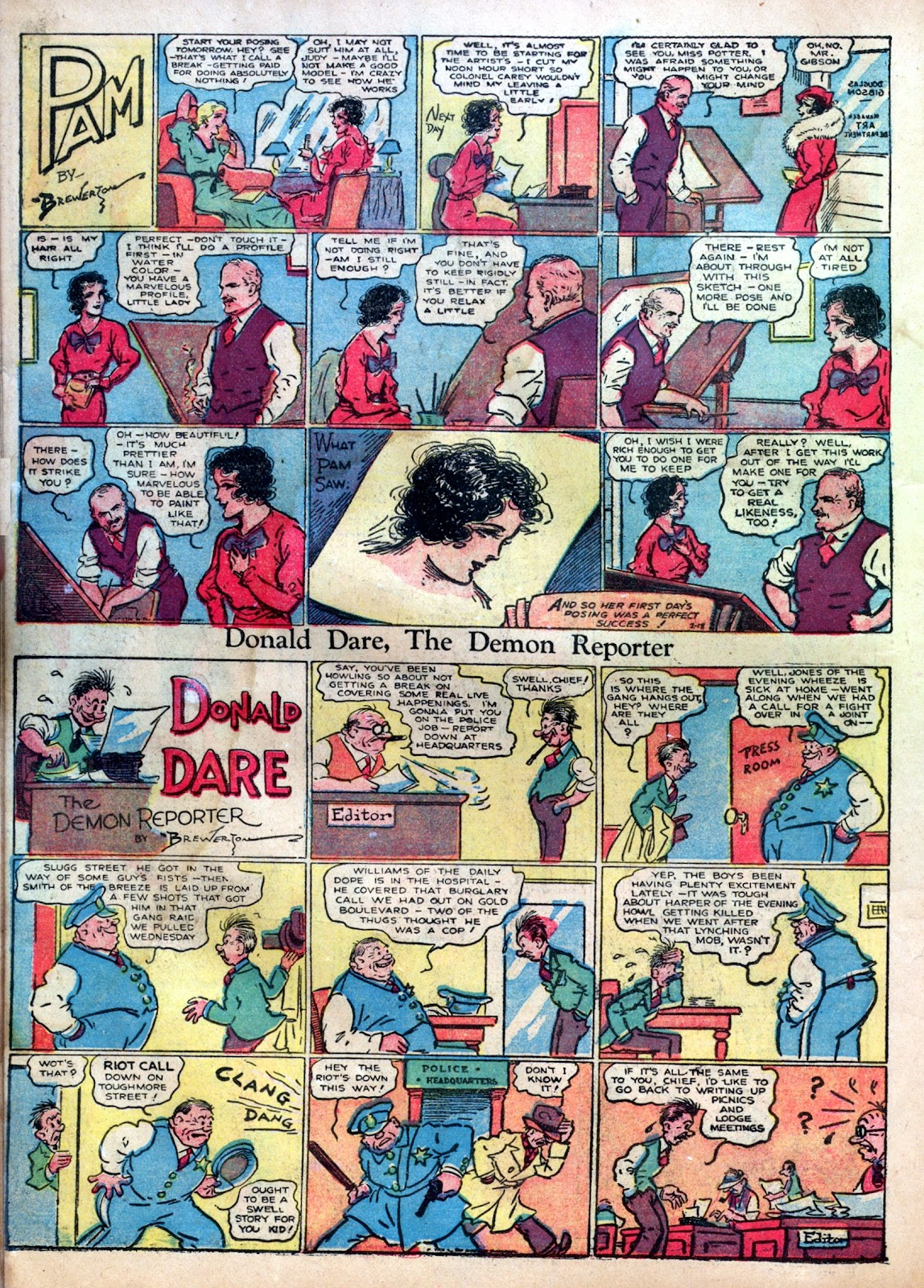 Read online Famous Funnies comic -  Issue #1 - 42