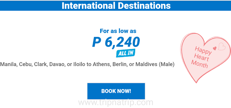 6000php+ Airfare Sale to Europe from Manila Philippines
