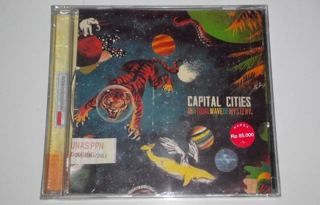 CD Capital Cities - In A Tidal Wave Of Mystery - MUSIKUPEDIA