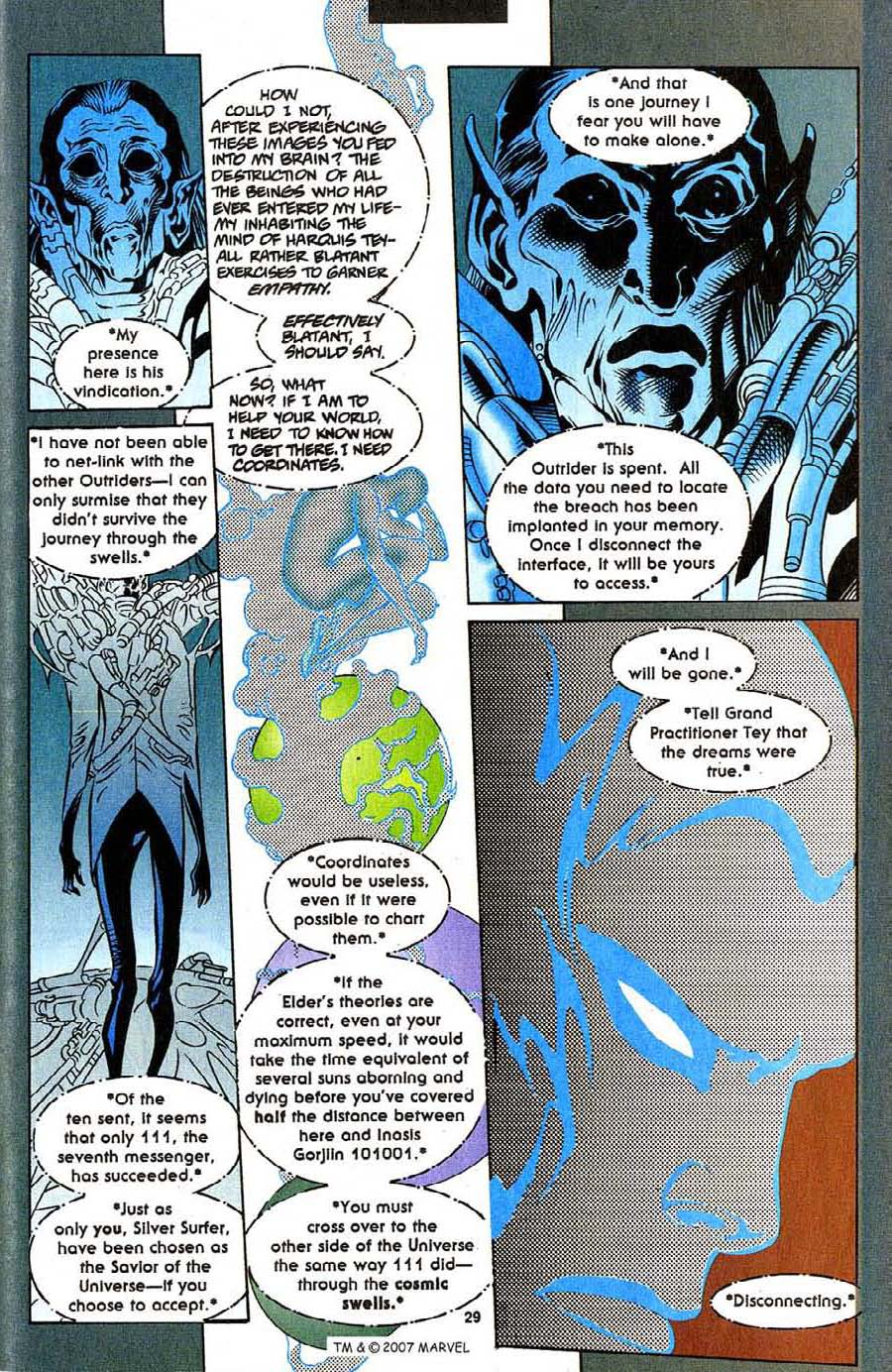 Read online Silver Surfer (1987) comic -  Issue #111 - 31