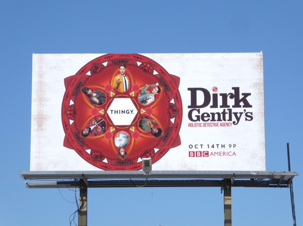 Dirk Gently season 2 billboard