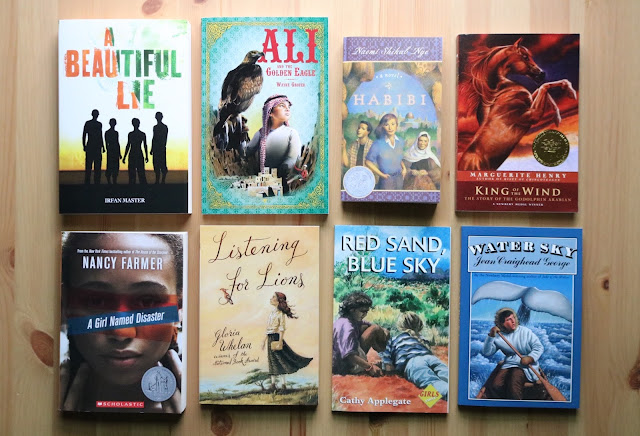All the Sonlight Literature F books your kids will read!