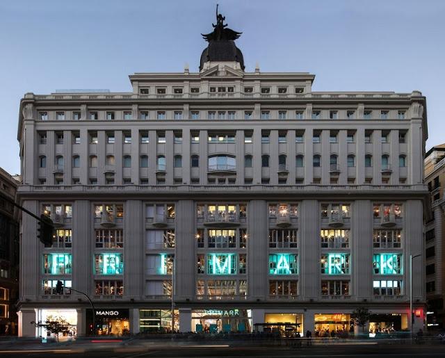 Loja Primark na Gran Via em Madri