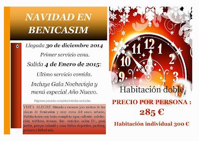 Fin de Año en Benicasim (Castellón)