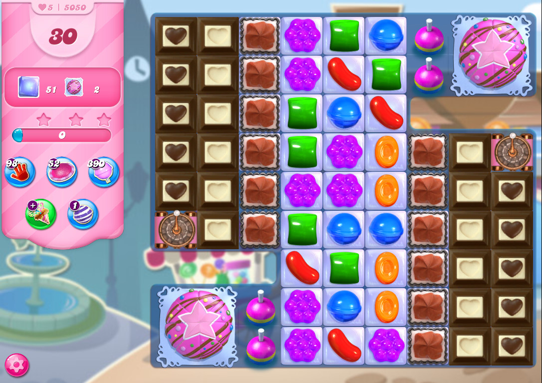 Candy Crush Saga level 5050
