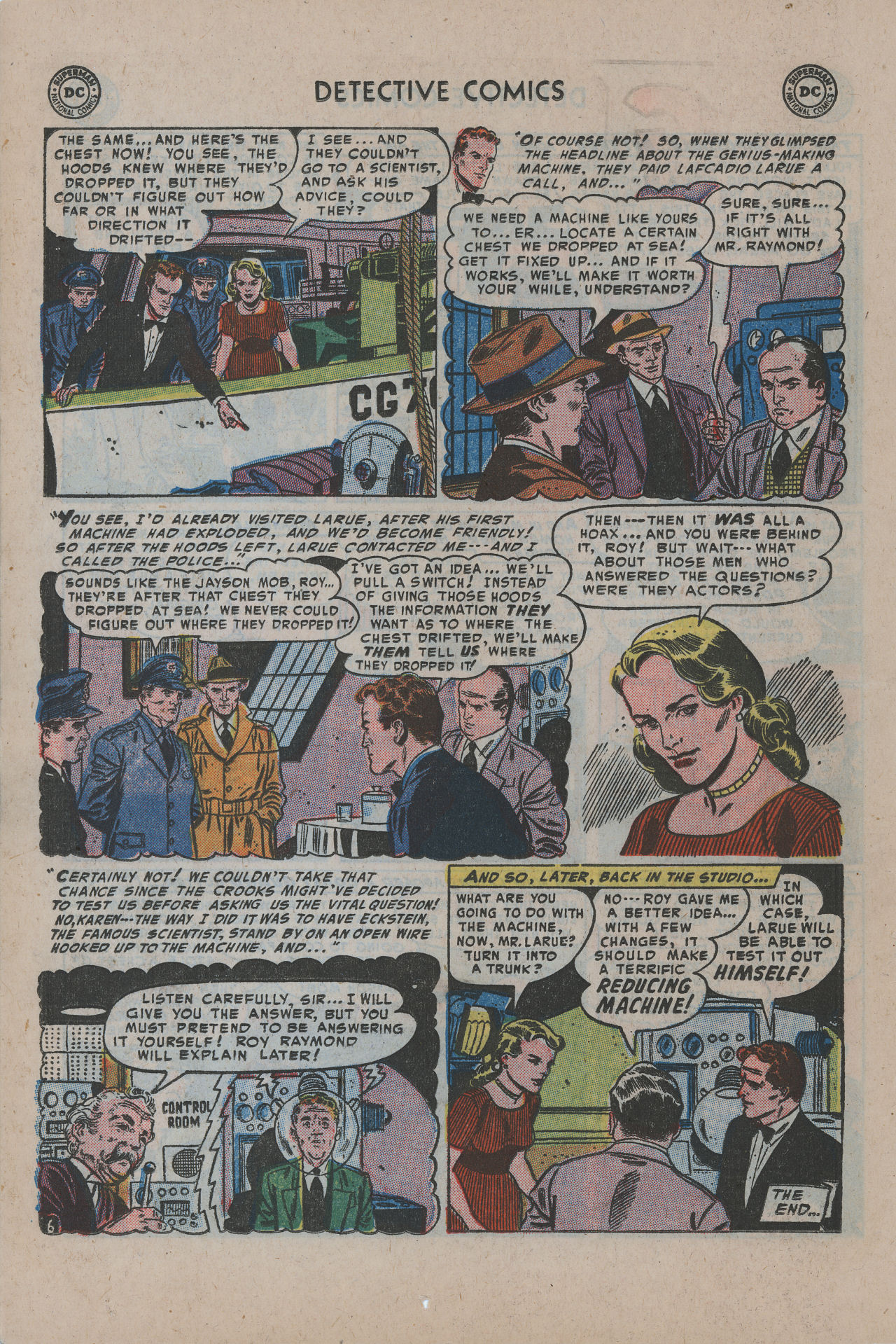 Read online Detective Comics (1937) comic -  Issue #200 - 23