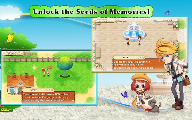 Harvest Moon: Seeds Of Memories APK + Data