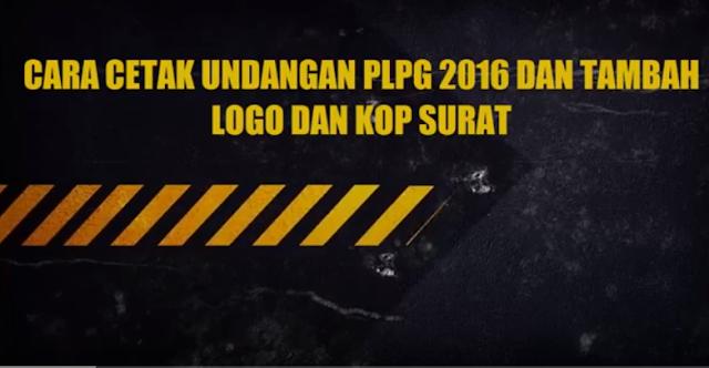 Cara Cetak Undangan PLPG dan Rubah Format PDF ke DOC Agar Bisa Masukkan Kop Surat