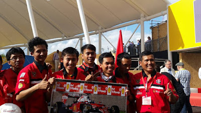 Tim Bumi Siliwangi UPI Juarai Shell Eco-Marathon Drivers World Championship London
